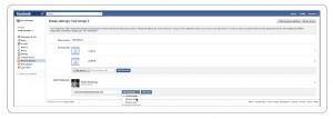 How do I organize Facebook Accounts on Account Groups
