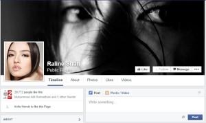 Raline Shah Fan Page FB
