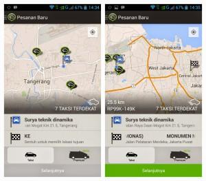 tips pesen taksi online_3