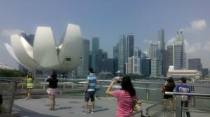 Perjalanan dari Kuala Lumpur Ke Singapore, Pemandangan Singapore