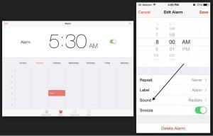 Alarm Ipad