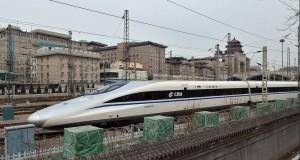 Kereta Api Termutakhir China - Harmony CRH