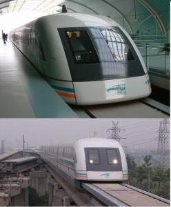 Kereta Api Termutakhir China - Shanghai Maglev