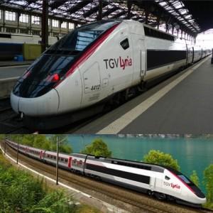 TGV Train - France1