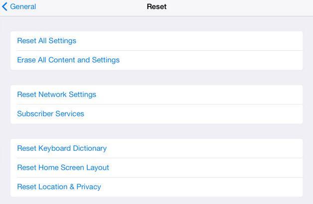 fungsi factory reset iPhone dan cara melakukannya 2